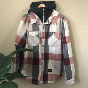 HOLDEN plaid ski jacket